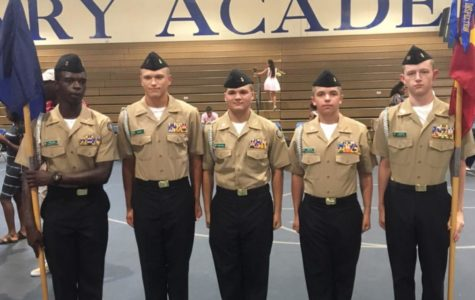 NJROTC Welcomes Incoming Freshmen