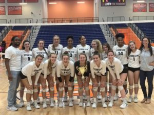 Varsity Girls Volleyball Spike to Success